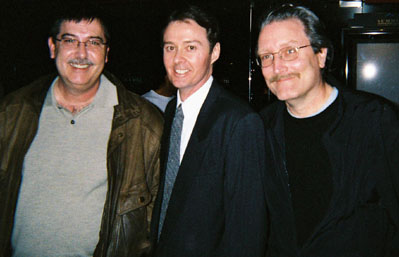 Film preservationist Scott MacQueen, Bruce Crawford, and